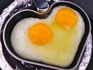 Desayuno en proceso.