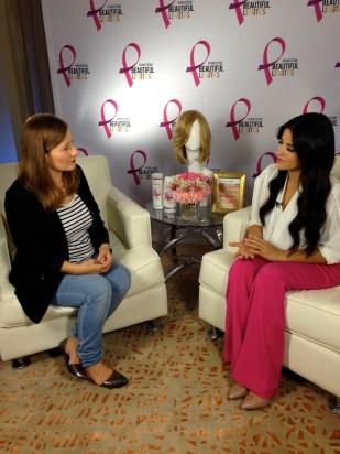Entrevistando a Maite Perroni