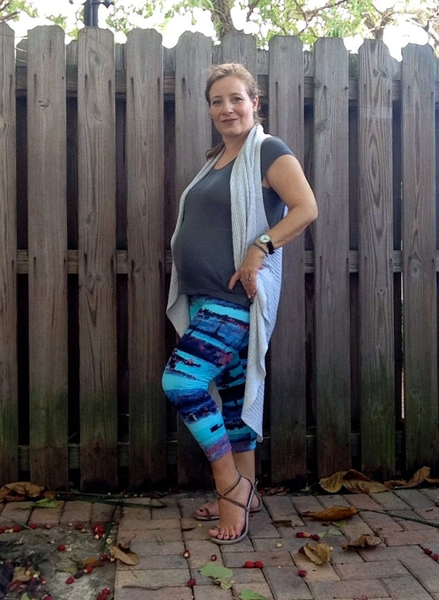 Leggings en el embarazo