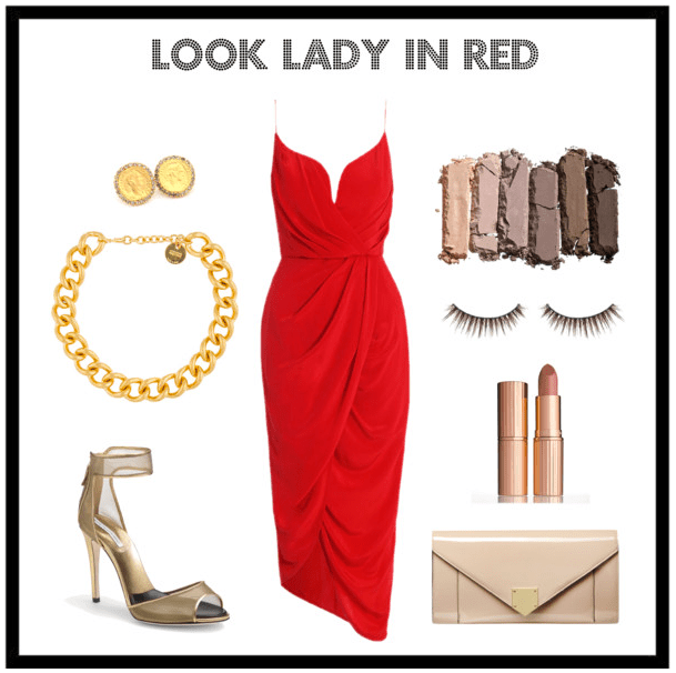Look Lady in Red