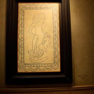 Cristina es muy pequeña para entender qué es un Picasso, pero yo me deleité al inicio viendo estas obras.