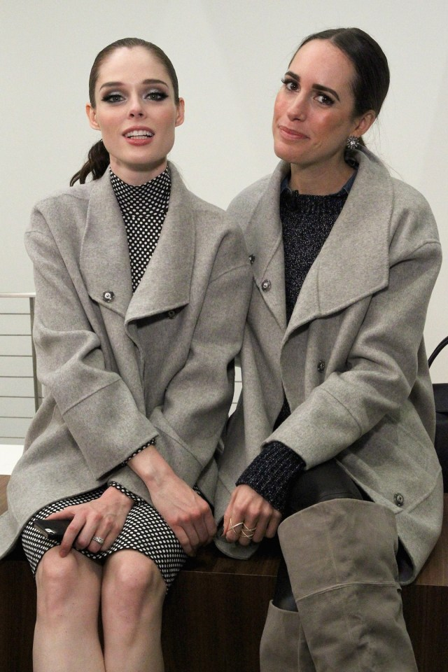 Coco Rocha and Louise Roe