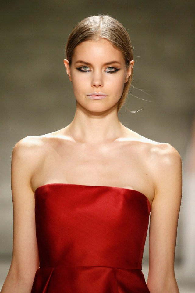 Angel Sanchez - Runway - Mercedes-Benz Fashion Week Fall 2015