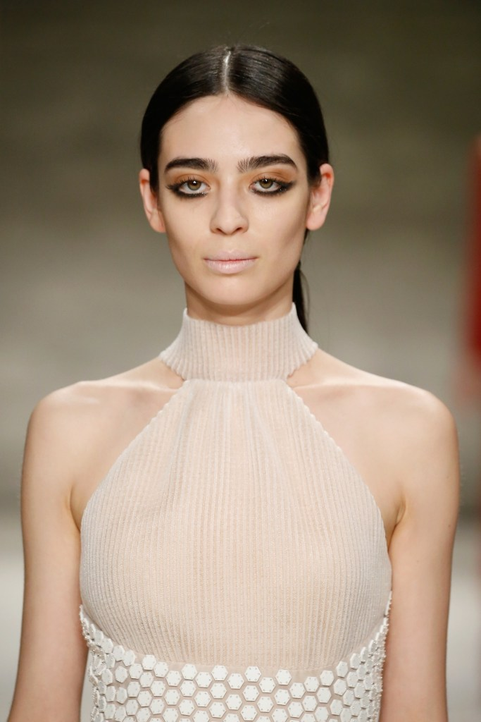 Angel Sanchez - Runway - Mercedes-Benz Fashion Week Fall 2015