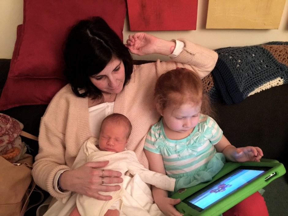 Gaby, Cristina y Guillermo