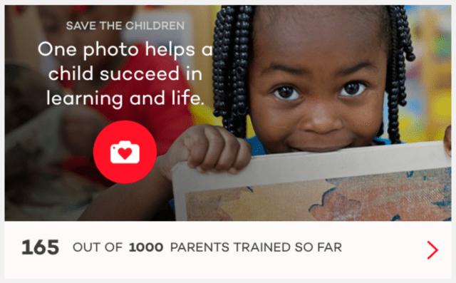 Johnson's Donate a Photo