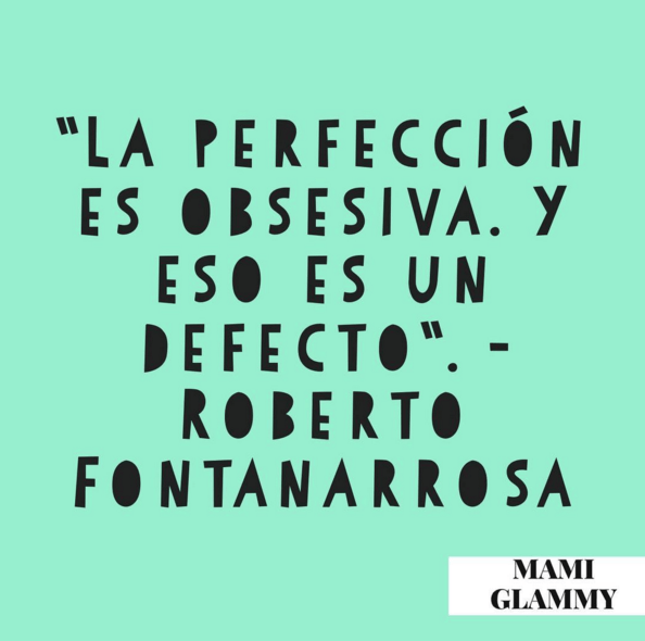 Perfección de la imperfección / Perfection of imperfection
