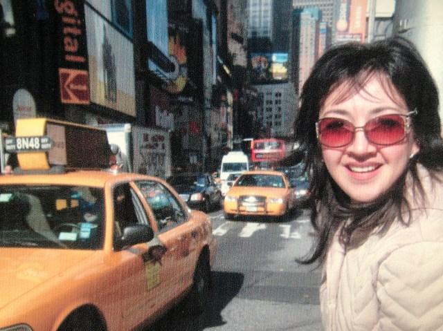Cristina Moreno en Nueva York