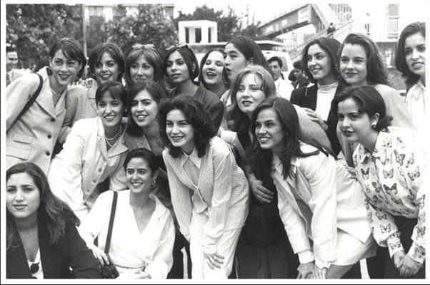 Graduación de la carrera de Licenciada en Ciencias de la Comunicación en Mayo de 1995.