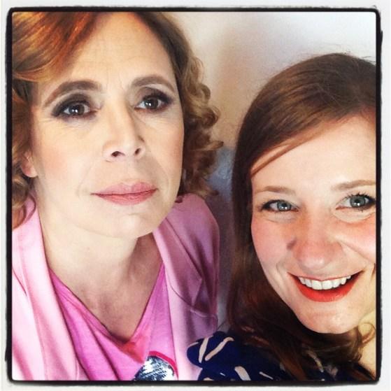 Selfie con Ágatha Ruiz de la Prada