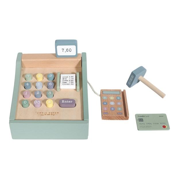 little dutch fa játék pénztárgép