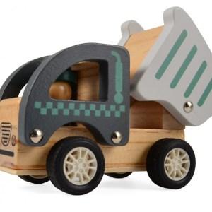 Fa hátrahúzhatós munkagép | teherautó