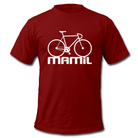 mamil bicycle t shirt
