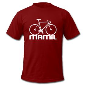 mamil bicycle t shirt