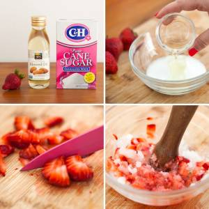 Strawberry-process