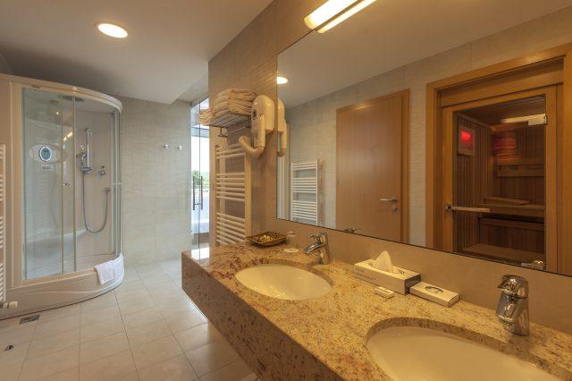 Presidential suite_Bathroom with sauna_Grand Hotel Primus_Terme Ptuj_Foto Z Vogrincic_1009 14