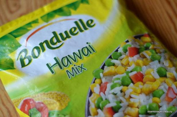 гавайская смесь