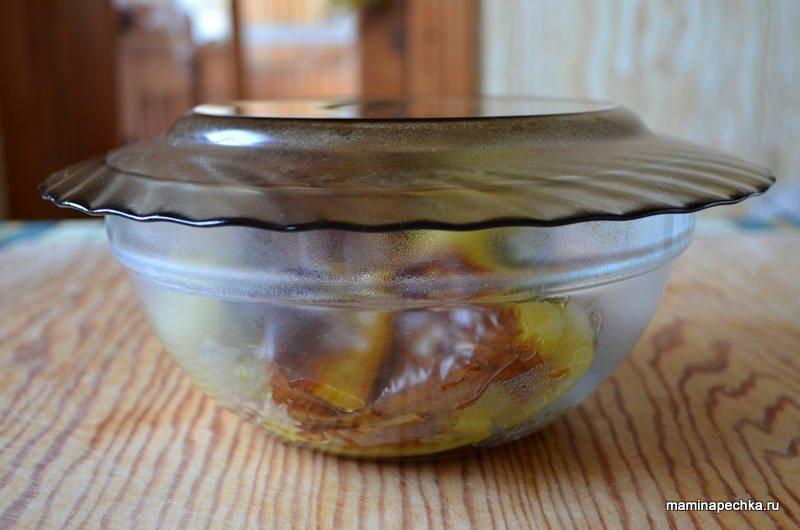 Жареный зеленый болгарский перец в маринаде на сковороде - рецепт пошаговый с фото