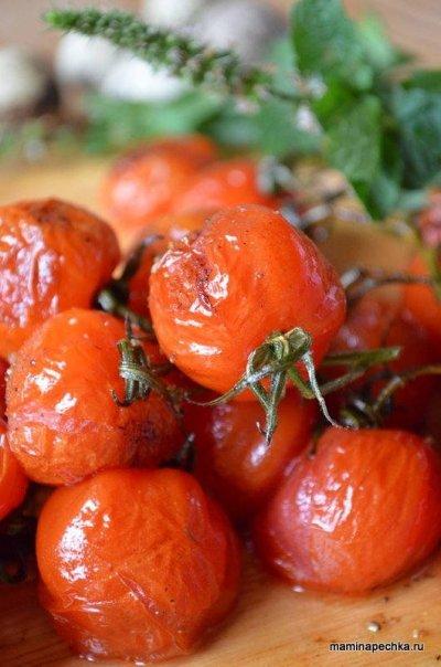 Жареные помидоры Черри