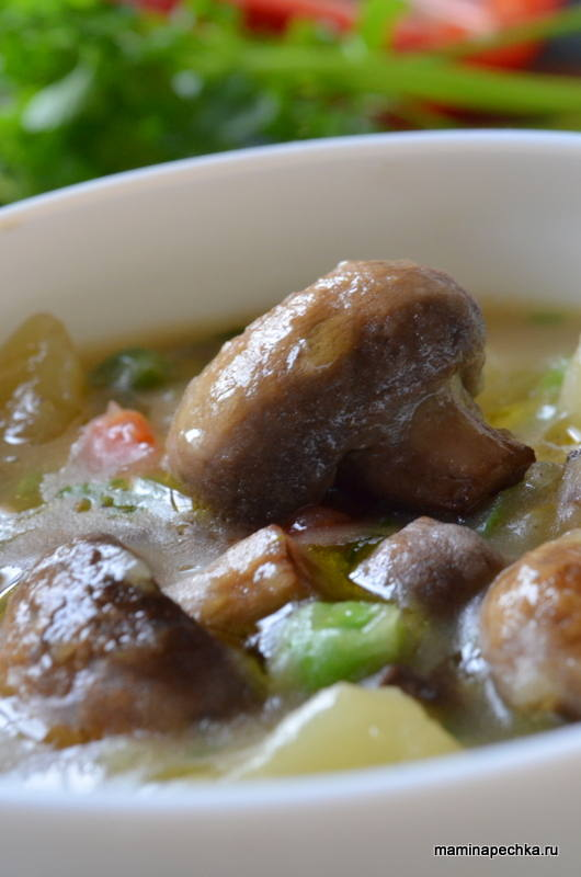 соус с грибами