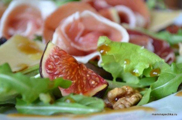 хамон салат инжир