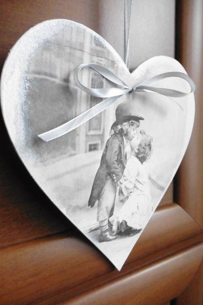 Nagroda Olinkowy Cud serce ozdobne duże 20 cm