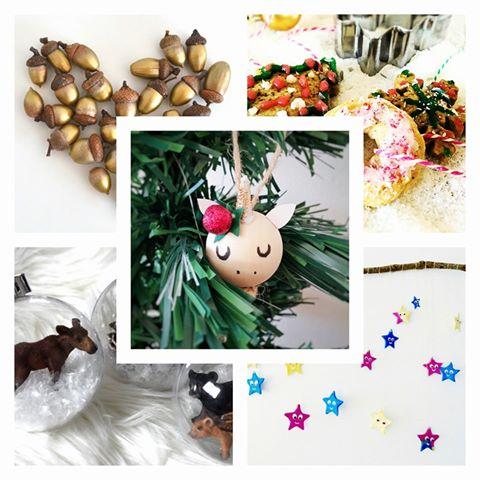 Backrezept und kreativer Weihnachtsschmuck