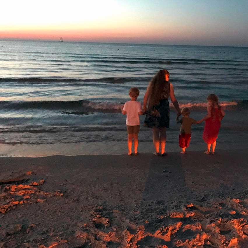 Glücklich als Hausfrau und Mutter: Mama Maus im Interview