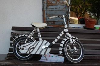 erstes Fahrrad