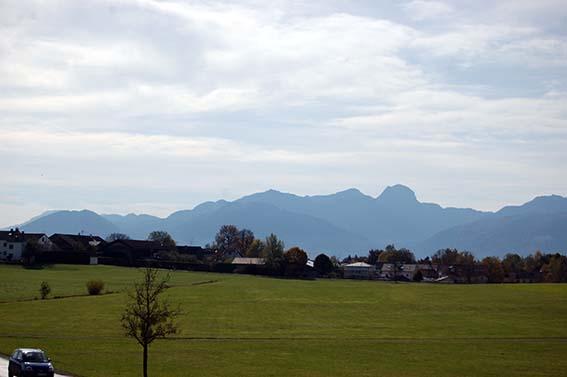 Heimat, Natur und Alpenpanorama zum Heiss