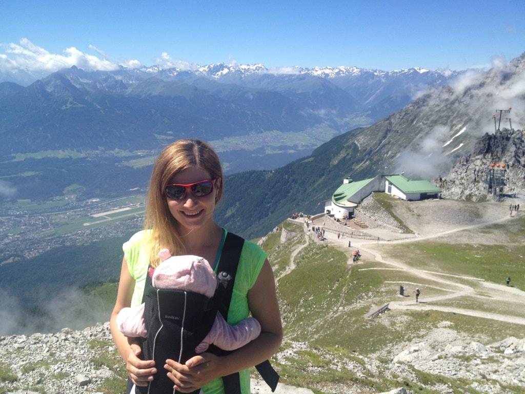 View from Haferkar: Innsbruck