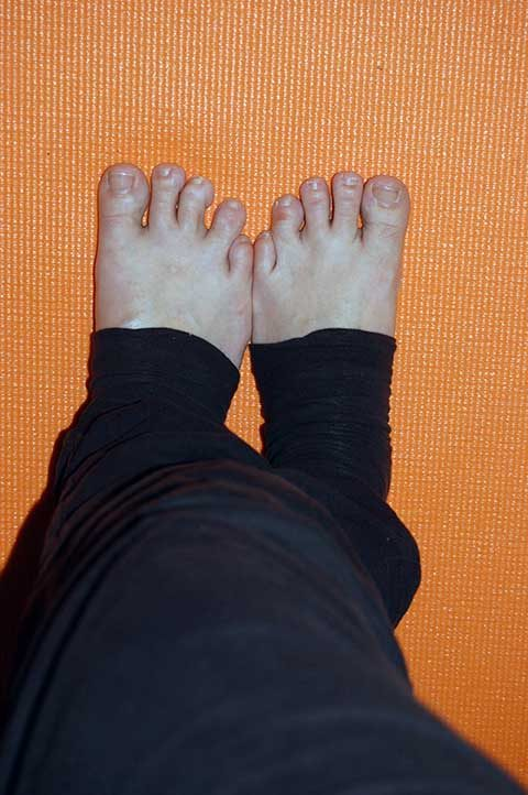 intuitives Yoga zuhause