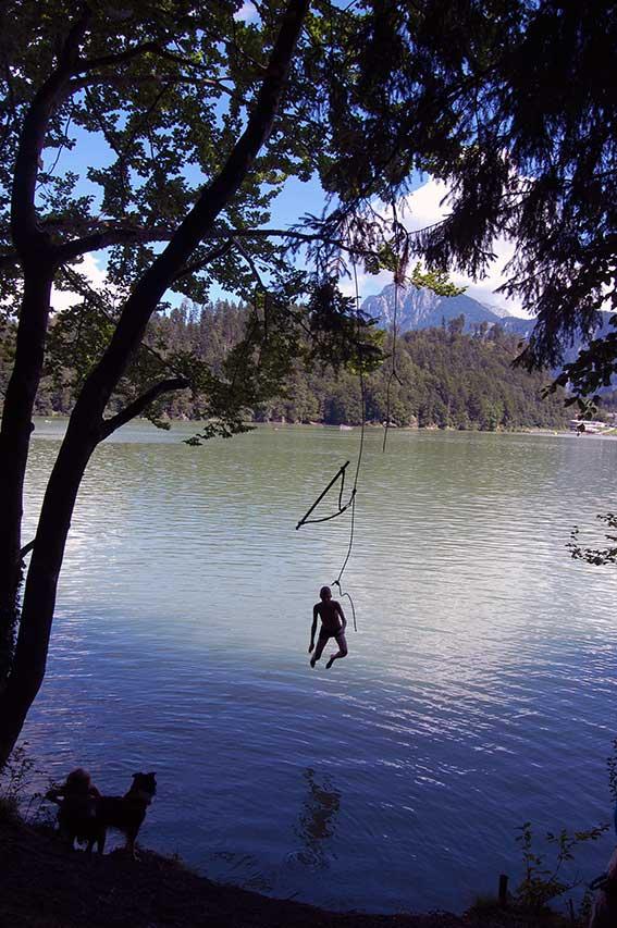 Wandern am Hechtsee