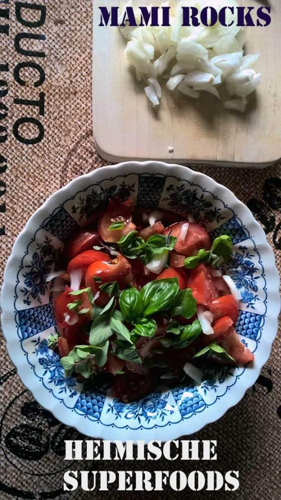 Heimisches Superfood: Tomaten, Oregano und Basilikum