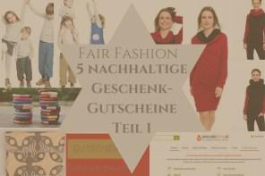 FAIR FASHION  5 nachhaltige Geschenk-Gutscheine – Tür 7