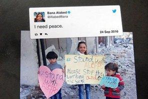 Spendenaktion für Flüchtlingskinder – Ich bin das Mädchen aus Aleppo