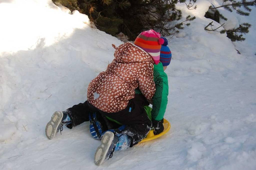 Skihütte in Südtirol: Skiurlaub mit Kindern