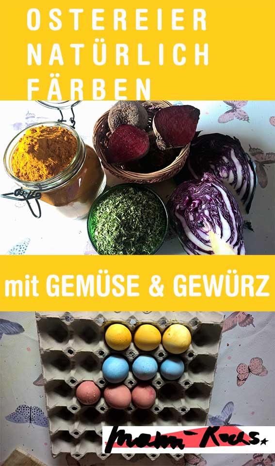 Ostereier natürlich färben mit Gemüse und Gewürzen: So geht's (mit Zeit- und Mengenangaben)