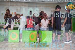 Wir feiern Kindergeburtstag in den Kristallwelten in Wattens
