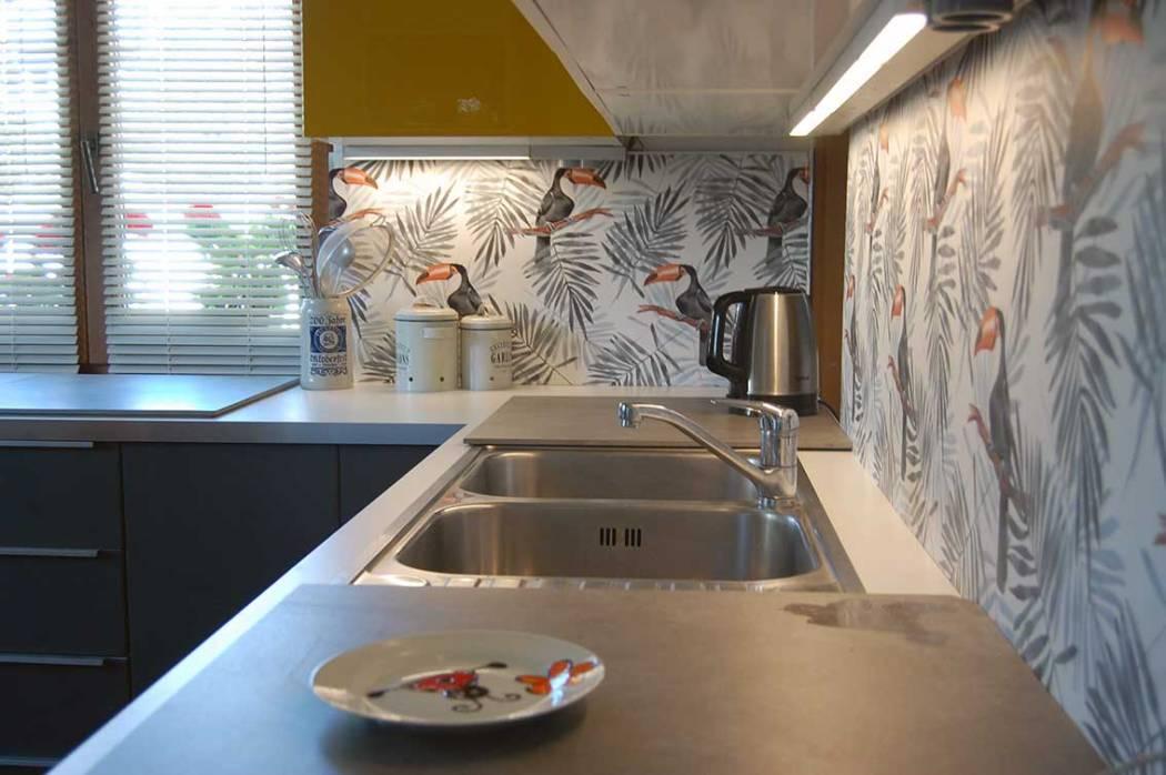 Ideen für eine neue Küche - Wohlfühlküche mit Tukans • Mami rocks