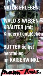 Butter selbst herstellen: DIY und Ausflugsziel Kaiserwinkl