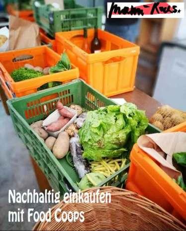 Nachhaltig einkaufen mit Food Coops