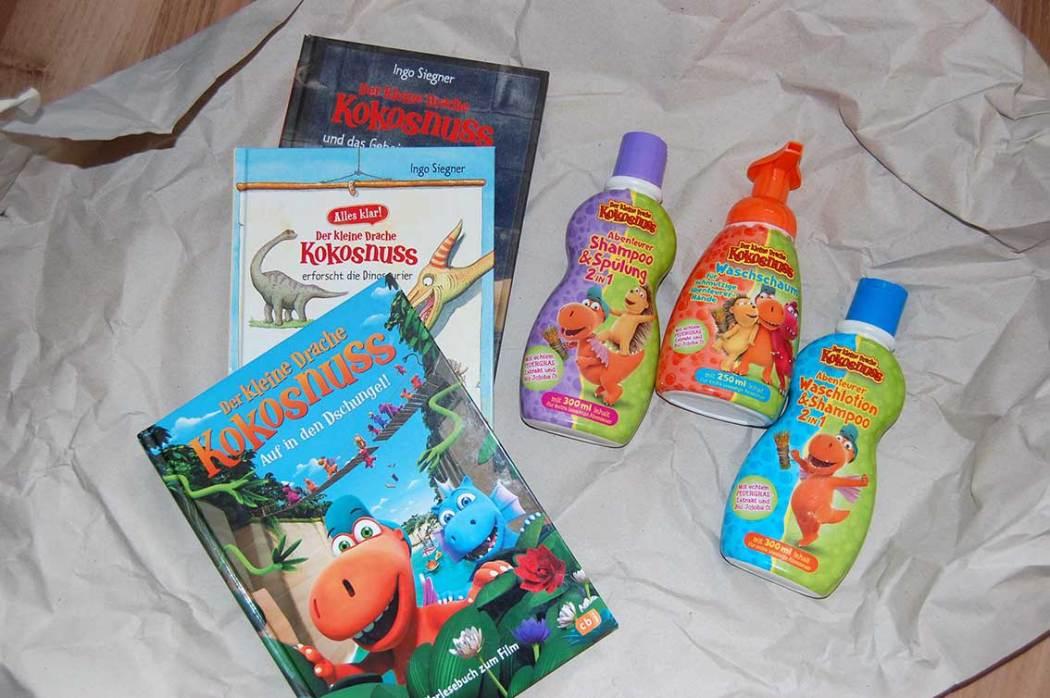 Naturkosmetik für Kinder: Der kleine Drache Kokosnuss