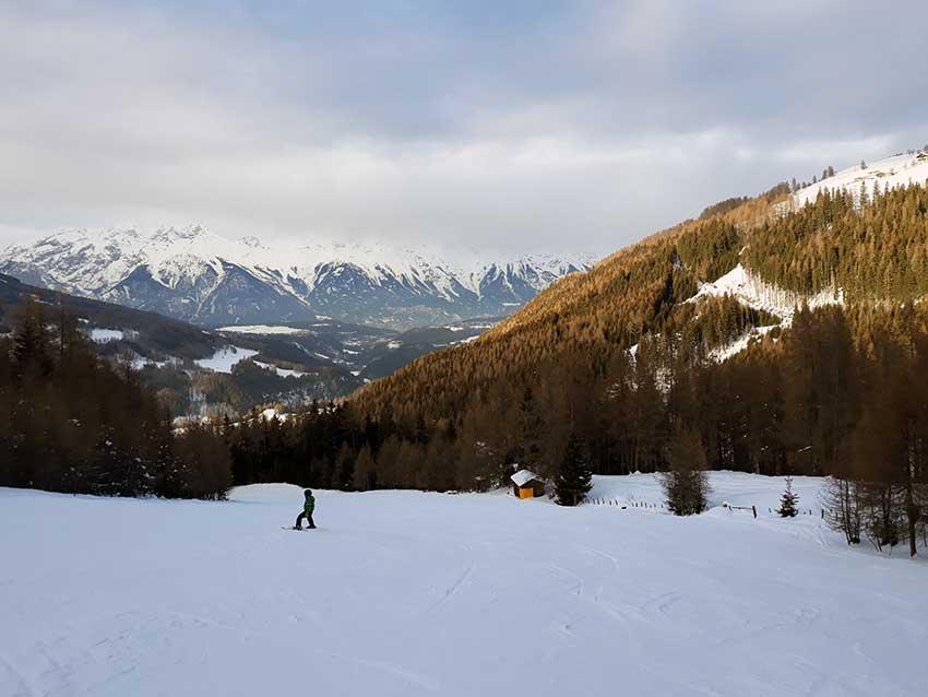 Skifahren mit Kindern im Stubaital – Serles Mieders