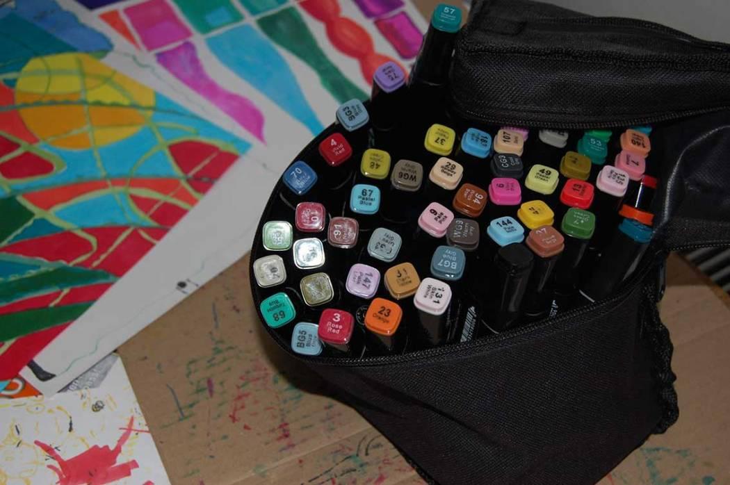 Malerei heute in der FARBKAMMER - für wen und warum male ich: KUNST MIT MÜLL