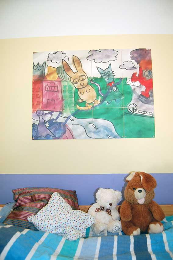 Mit ixxi Bilder kinderleicht an die Wand bringen