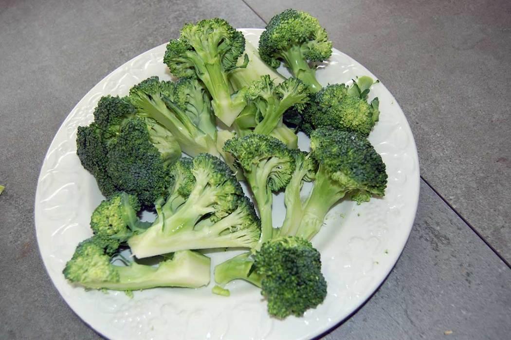 Brokkoli zum Kabeljau