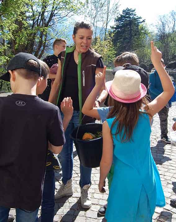 Naturkinder feiern Geburtstag im Alpenzoo