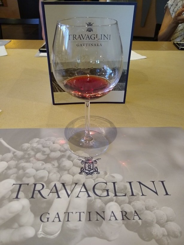 Gattinara Travaglini Wine Tasting Slow Food Northern Piedmont