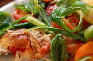 Kochen zuhause: besoffener Hahn